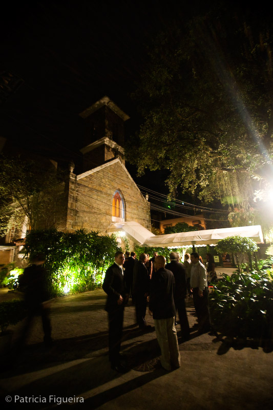 Foto de casamento 0284 de Marta e Bruno. Marcações: 07/11/2008, Capela Santa Ignez, Igreja, Marta e Bruno, Rio de Janeiro.