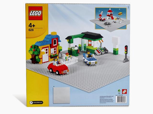 628 レゴ 基本セット 基礎板 灰 48×48ポッチ