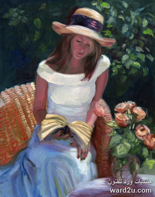 همس الذكريات فى حدائق الوان الفنانة Sally Rosenbaum