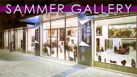"""Exterior de la Galería de Arte """"Sammer Gallery"""", en Puerto Banús"""