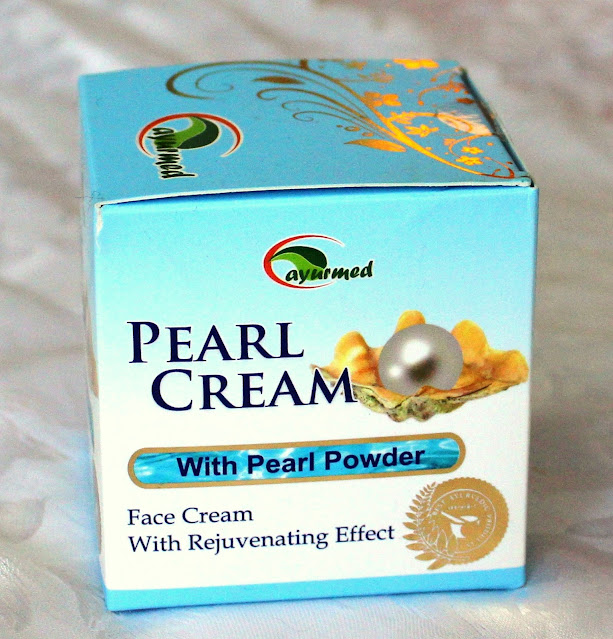 Pearl Cream de la Ayurmed. Review