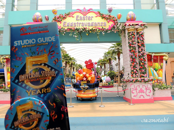 Happy 5th Birthday Universal Studios Singapore!