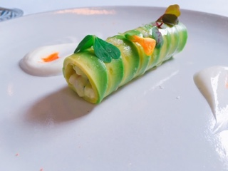 Eleven Madison Park roulade