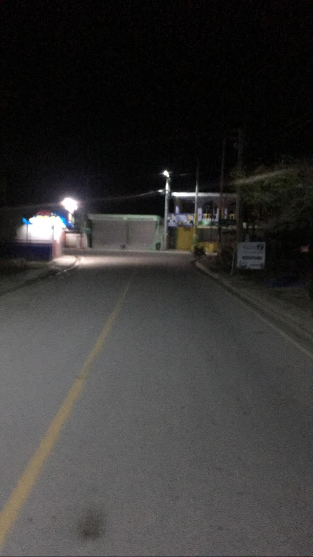 Ciudadanos captan toque de queda en Samaná.