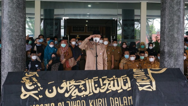 Lepas Jenazah Nazrizal, Gubernur: Almarhum Sosok yang Bertanggungjawab