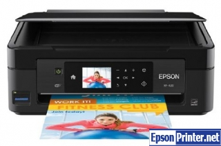 How to reset Epson XP-420 printer