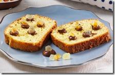 Fette di pan brioche con Nutella e agrumi canditi