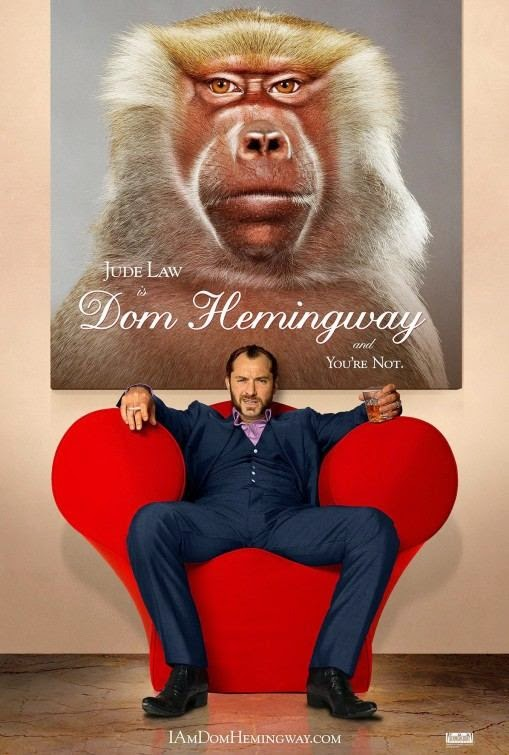 Poster Of English Movie Dom Hemingway (2013) Free Download Full New Hollywood Movie Watch Online At Alldownloads4u.Com
