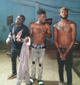 Cultists Arrested For Threatening To Kill A Man Who Refused To Join Them In Ogun (Photo)