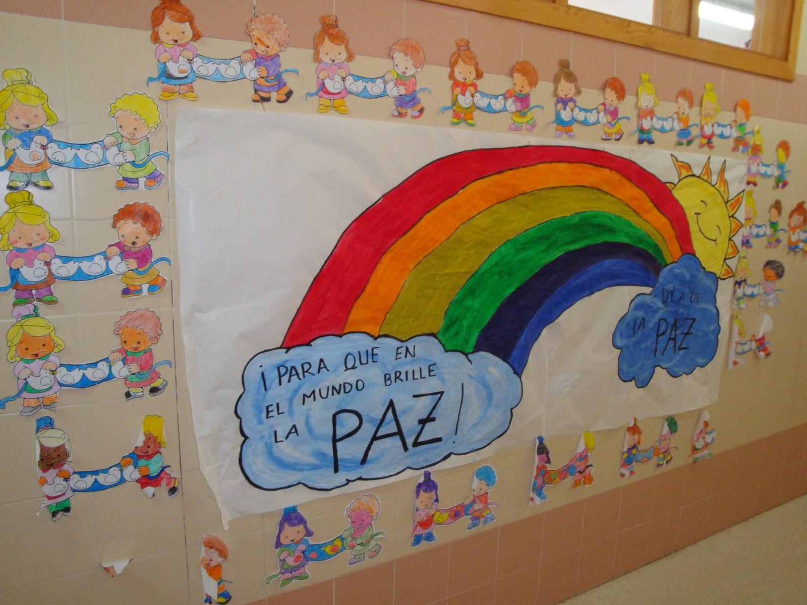 Rincón De Infantil Día De La Paz: El Rincón De Memes: Mural Del Día De La Paz