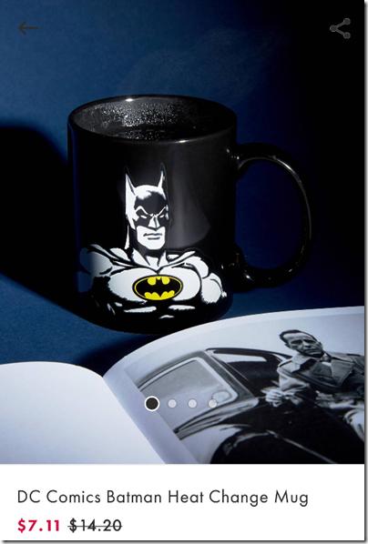 DC Heat Change Mug Batman