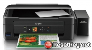 Reset Epson L364 ink pads are at the end of their service life