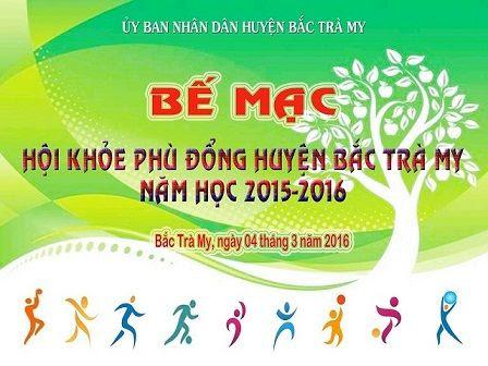 Tổng kết, bế mạc Hội khỏe Phù đổng cấp huyện năm học 2015-2016