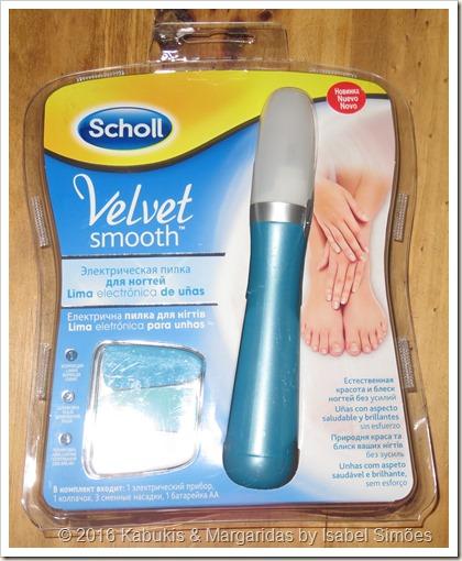 Lima Eletrónica de Unhas Velvet Smooth da Dr.Scholl