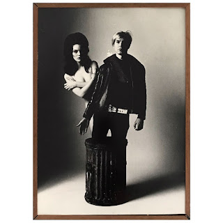 Carl Fischer Photo Print of Susan Bottomly & Andy Warhol