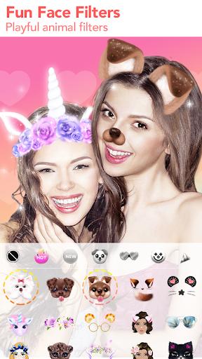 FaceFun - Face Filters, Selfie Editor, Sweet Cam 1.7.8 screenshots 2