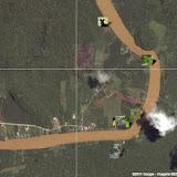 Localisation des photos autour de Sukau (partie sud)