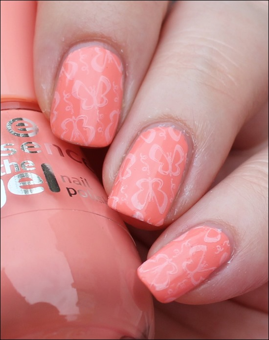 Soft Summer Schmetterlinge Stamping Essence Sommer 00