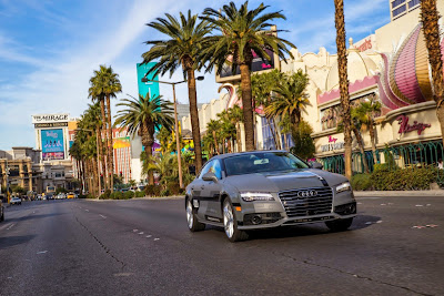 Audi A7 Piloted Driving Concept Drives Silicon Valley to Las Vegas Drive 76