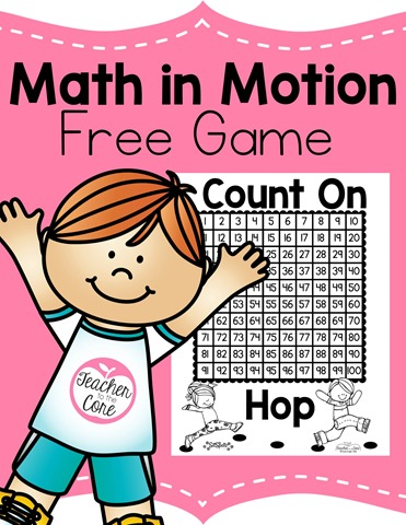 Free Math Game from Teacher to the Core-You are going to love this