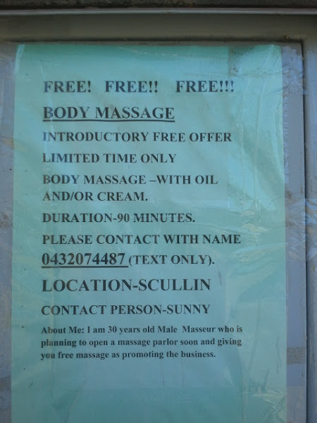 body massage note