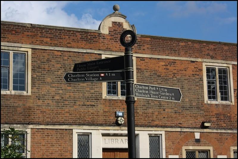 Charlton House - signage