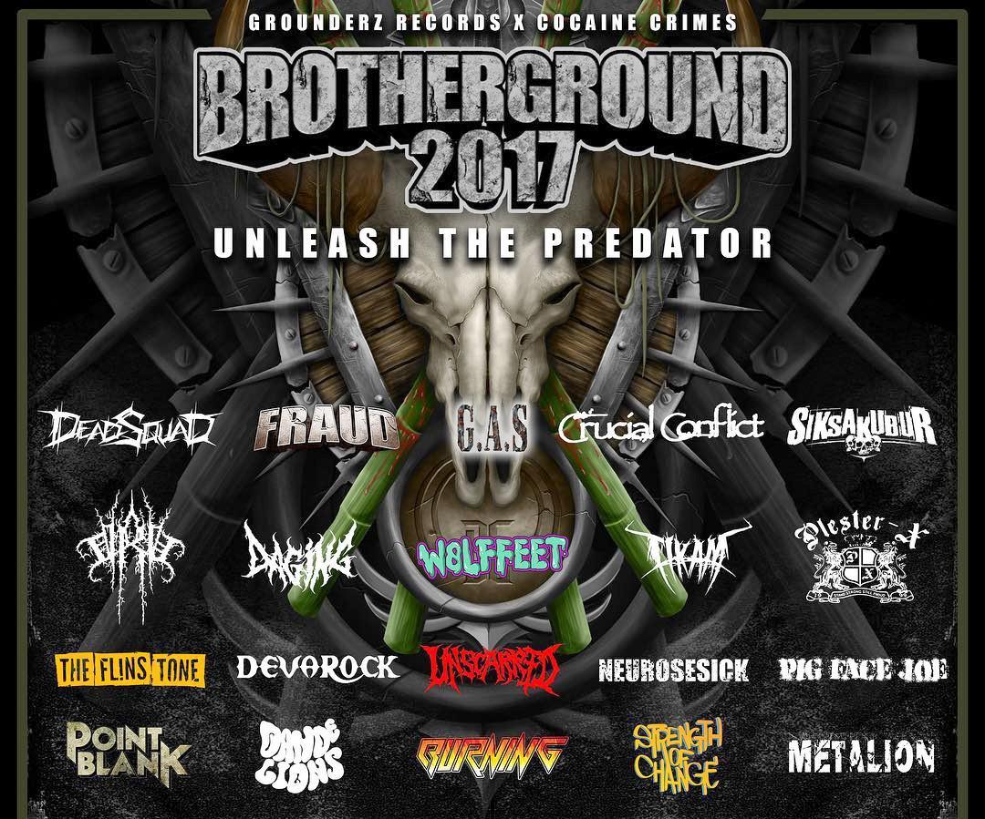 Event: BROTHERGROUND FESTIVAL, 10 September 2017 At Parkir