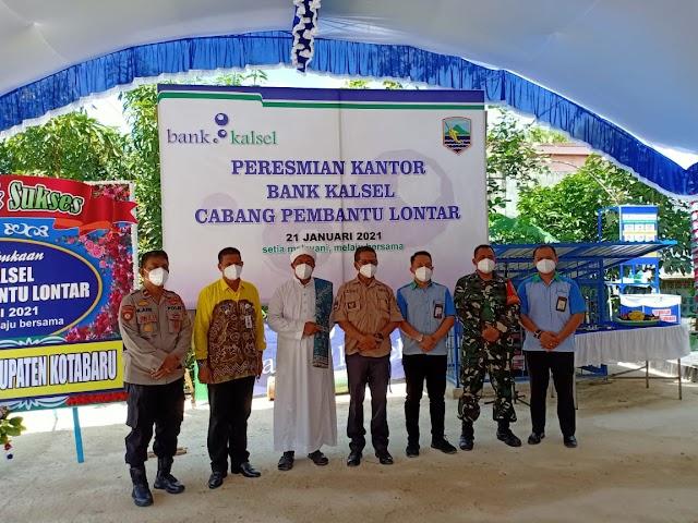 Dekatkan Pelayanan, Bank Kalsel Resmi Buka KCP Lontar