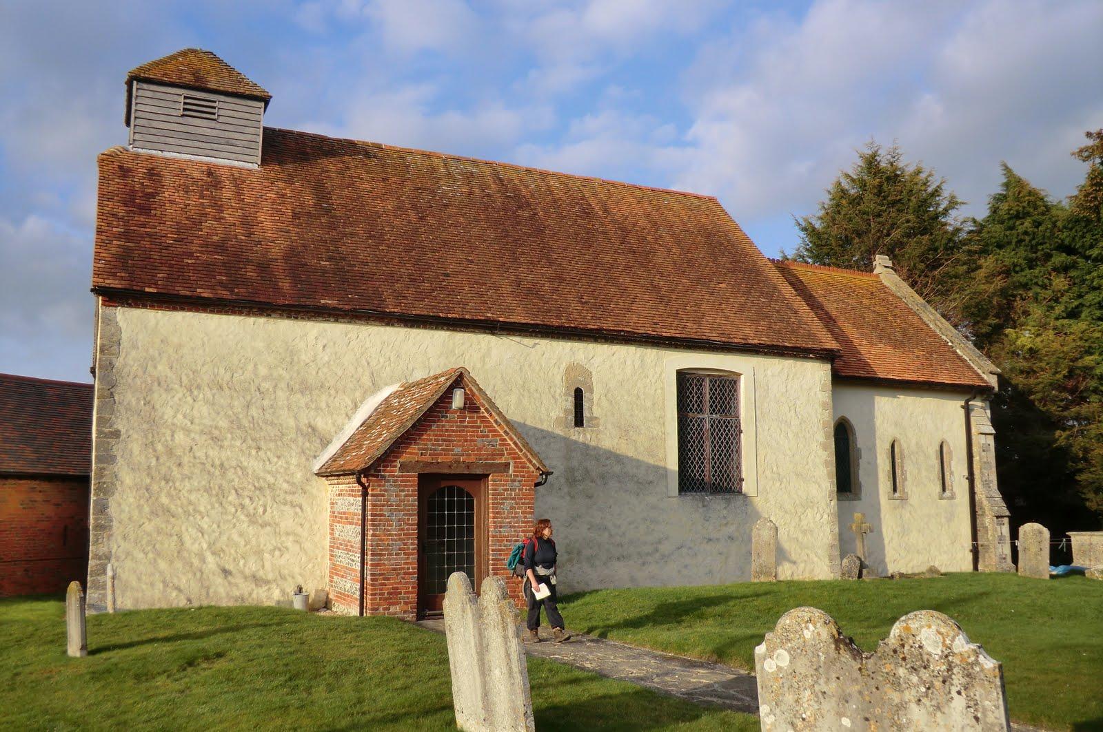 CIMG1721 St Mary's church, Tufton