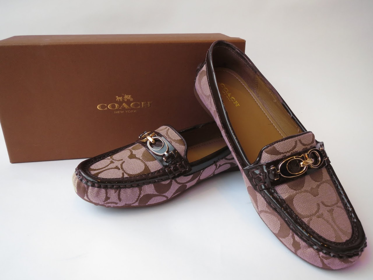 Coach Monogram Loafers