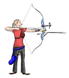Olympijský reflexní luk / Olympic recurve bow
