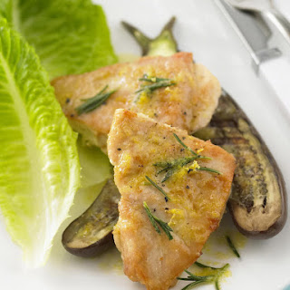 Pan Fried Chicken Breast with Rosemary and Lemon