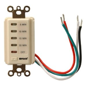Woods 59720 Automatic Wall Switch Timer, 30-Minute, Light ...