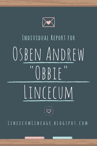 Individual Report - OALincecum