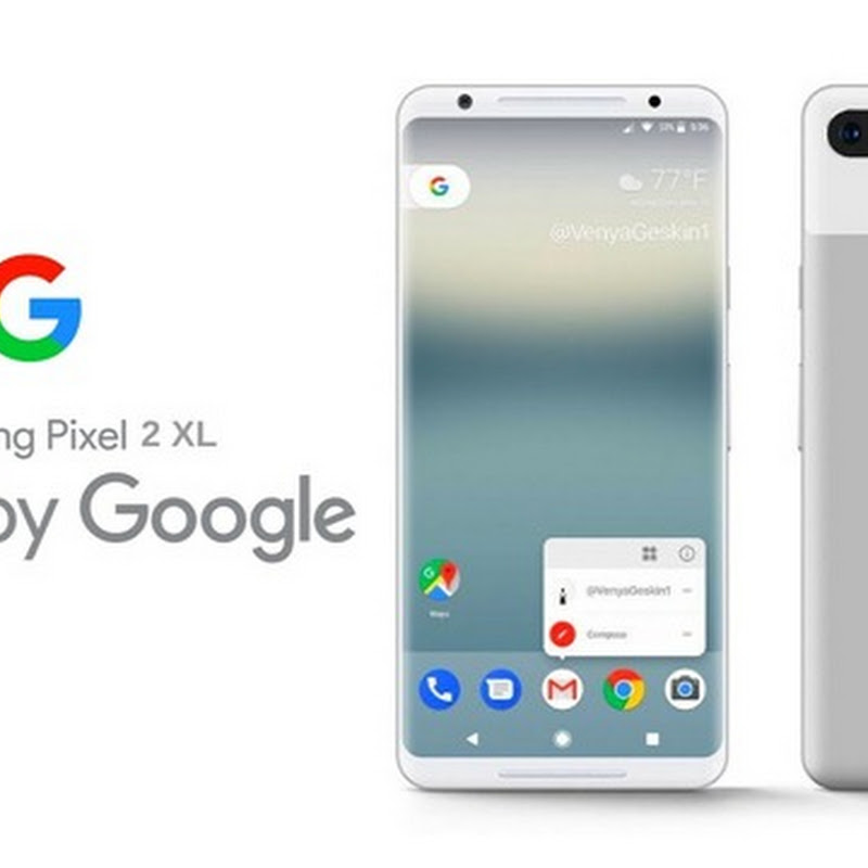 Google Pixels 2XL Specifications And Price