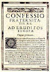 Anonymous - Confessio Fraternitatis