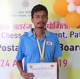 Trailokya Nanda online chess Assam