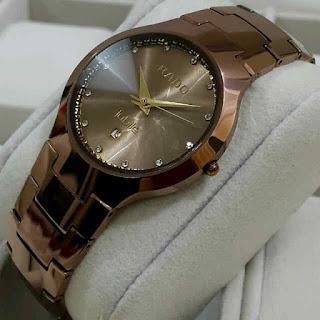 jam tangan Rado tungsten brown bahan kramik