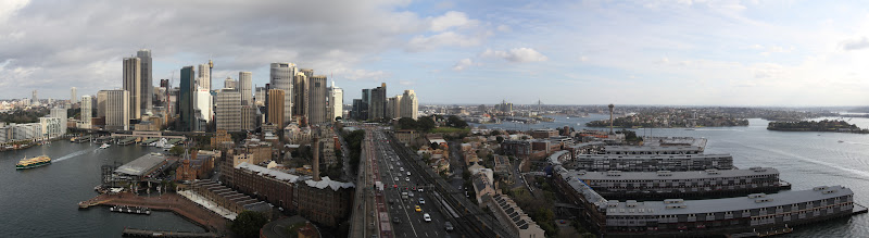 Sydney CBD and Darling Harbour panorama