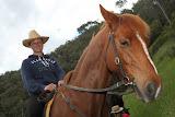 Johanna on her horse (© 2010 Bernd Neeser)
