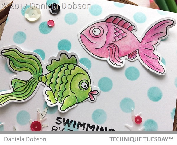 Swimming close  by Daniela Dobson