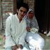 bersama nenek ku dari seorang ibu ku