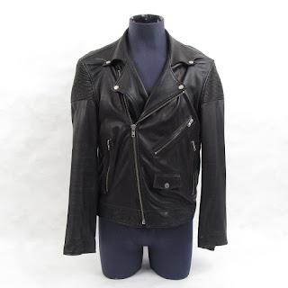 BLK DNM Leather Motocross Jacket