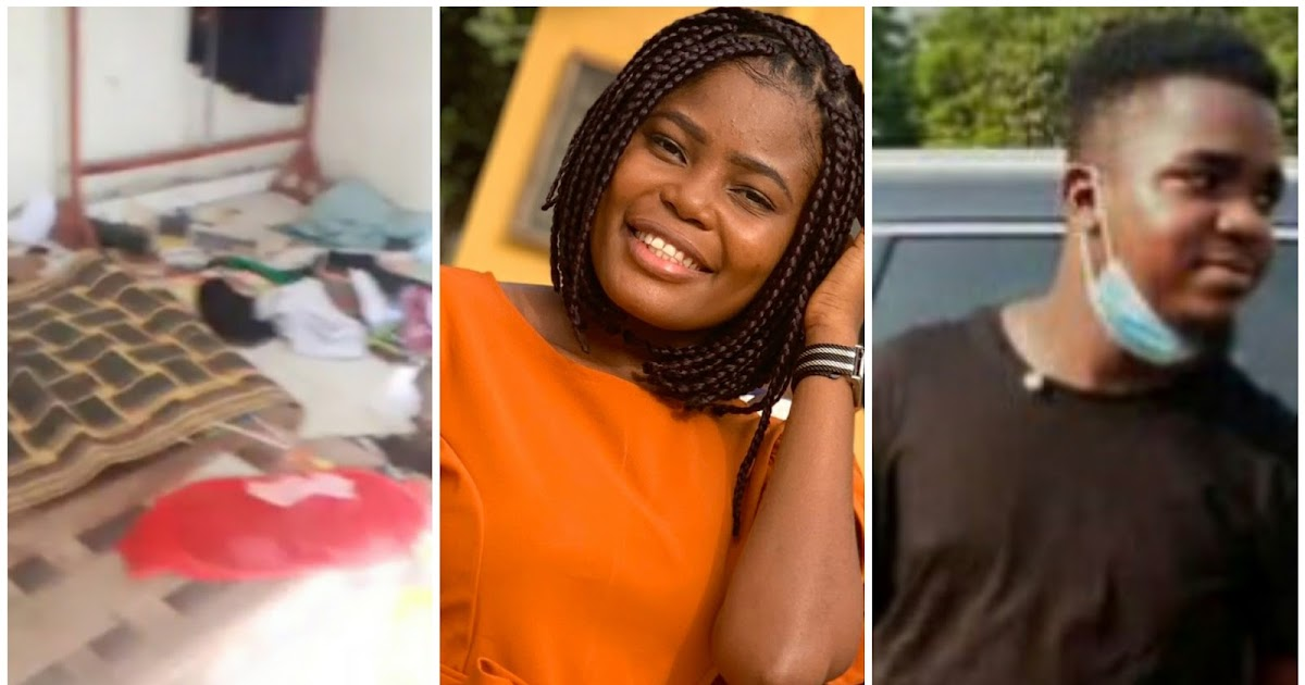 Videos) The room and building Iniobong Umoren was raped and killed by Uduak  Frank Akpan REVEALED