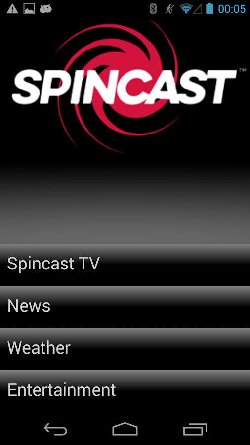 Spincast TV- screenshot