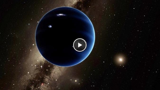 NIBIRU astrônomos afirmam mudar o nome do Planeta Nove para Planeta X