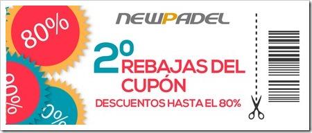 Rebajas del Cupón, la campaña más atractiva para comprar con descuento en la cuesta de enero gracias a New Padel.