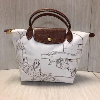 Longchamp Embroidered Handbag