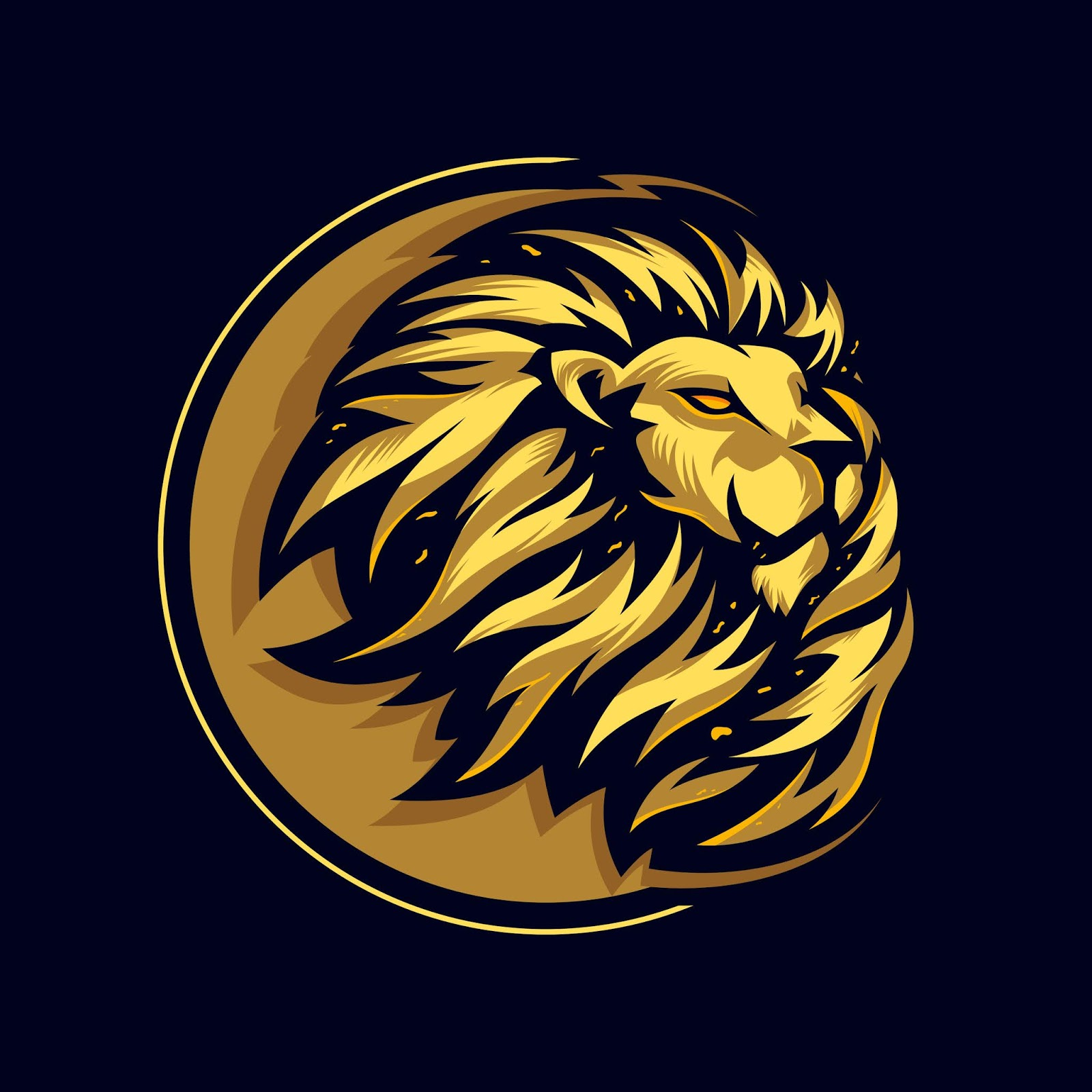 Awesome Head Lion Logo Premium Free Download Vector CDR, AI, EPS and PNG Formats