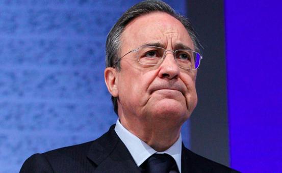 Florentino Pérez, presidente del Real Madrid C.F., da positivo a Covid-19